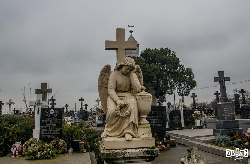 Cimitirul șvăbesc din Petrești- locul vegheat de îngerași la propriu
