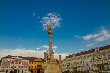 Când ciuma a încetat, Monumentul Sfintei Treimi s-a ridicat!