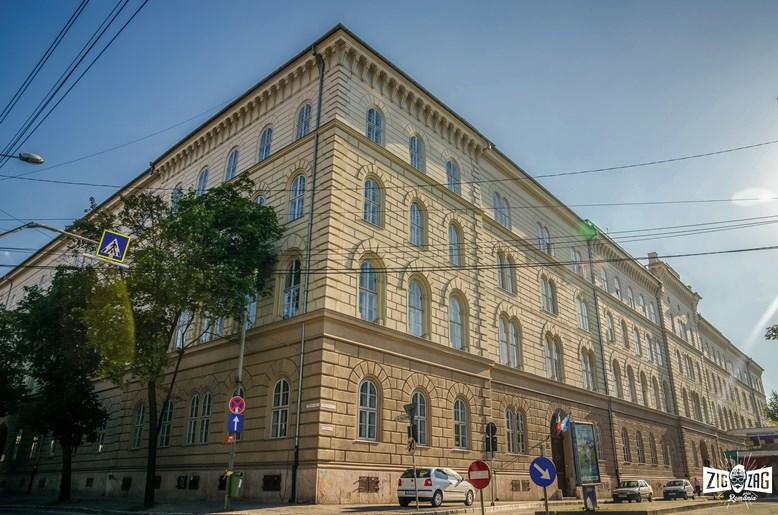 Dreptatea se face în stil grandios: Palatul Dicasterial din Timişoara