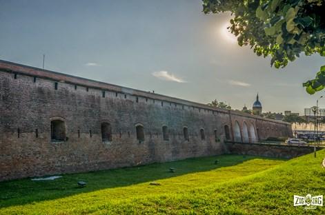 Bastionul Maria Therezia: Un fragment din vechea cetate a Timișoarei reînvie