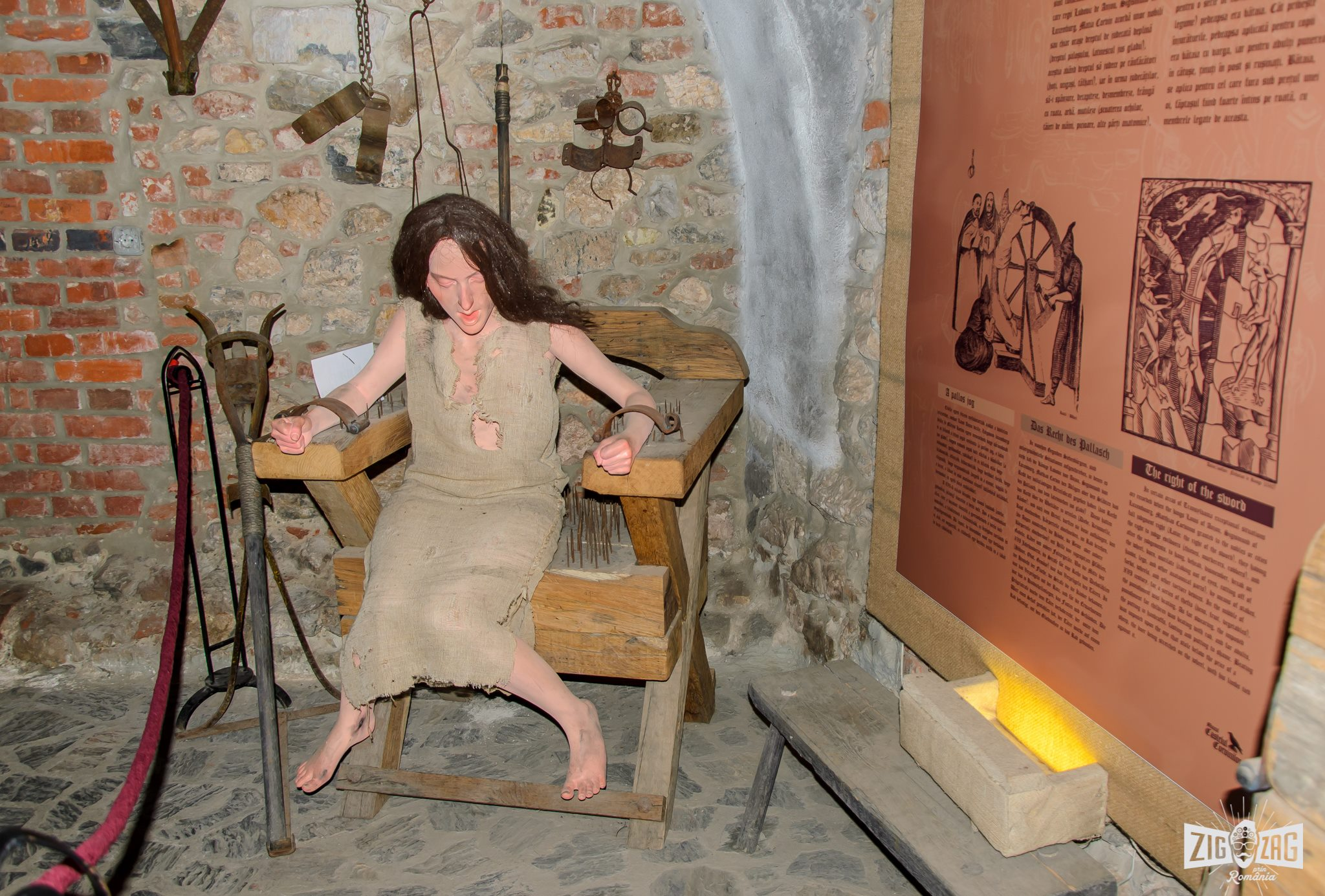 castelul corvinilor tortura