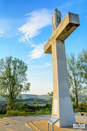 Zig Zag prin Blaj: Crucea lui Avram Iancu