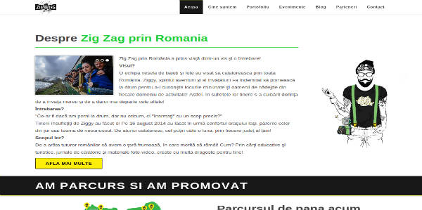 zig zag prin romania website thumbnail