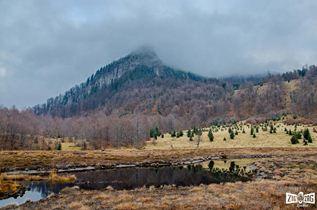 Munții Gutâi, tăul Chendroaiei