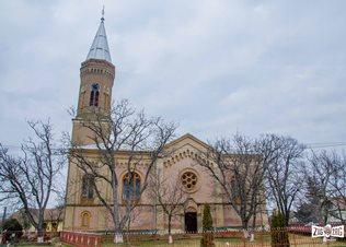 Biserica reformată din Ghenci