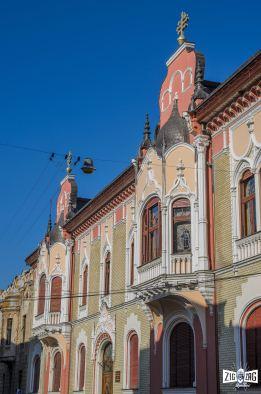Palatul Episcopiei ortodoxe- una dintre bijuteriile arhitecturale ale lui Rimanóczy jr.