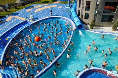 Aqua Park President- un colțișor de distracție și zbenguială cu apa