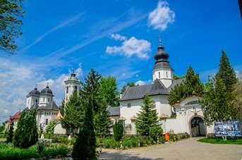 Spațiu de legendă pe Lunca Mureșului - Mănăstirea Hodoș-Bodrog