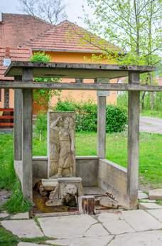 Viața iese cu bulbuci de sub pământ - Izvor de apă minerală din Băi Lipova