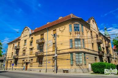 Secession pe ritmuri ortodoxe : Palatul Sârbesc din Arad
