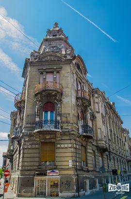 Palatul Szantay: cartea de vizită a arhitecturii secession arădene